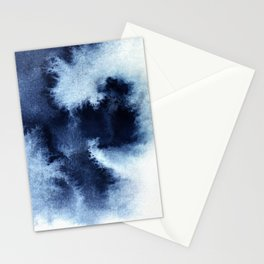 Indigo Nebula Stationery Cards