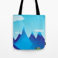 cycle Tote Bags featuring Cycle by kylecschaeffer