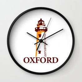 Oxford - Maryland. Wall Clock