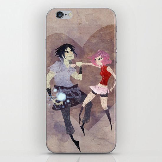 I hate to love you! iPhone & iPod Skin