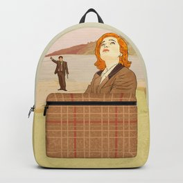 Lake Okobogee Fox Mulder and Dana Scully Backpack