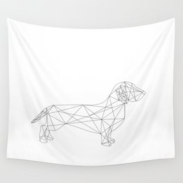 Dachshund Wall Tapestry