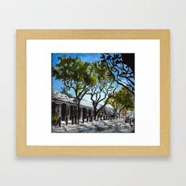 Headhouse Square in Philadelphia Framed Art Print