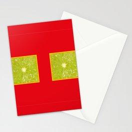 Lime Eyes – Strange Fruits Stationery Cards