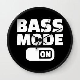 Choir Bass mode on Wall Clock