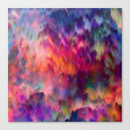 Sunset Storm Canvas Print
