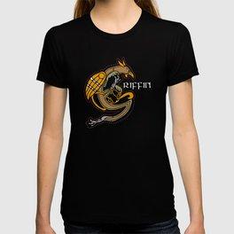 Celtic Medieval Griffin Text 2019 T-shirt