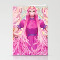 artgerm Stationery Cards featuring PB by Artgerm™