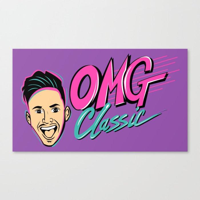 OMG CLASSIC Canvas Print
