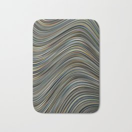 MAGS multi-colour layers create a giant wave Bath Mat