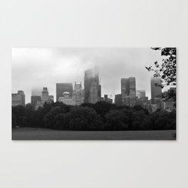 fog in city... Canvas Print