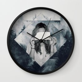 Hidden beauty Wall Clock