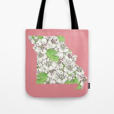 Missouri in Flowers Tote Bag