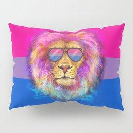 The Bi Lion Pride Pillow Sham
