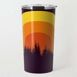 summer mountain Travel Mug