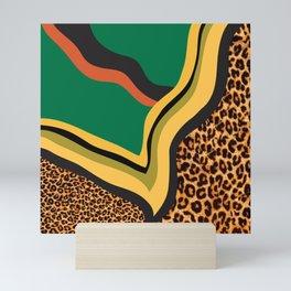 Leopard print Mini Art Print
