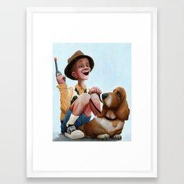 High Expectations Framed Art Print