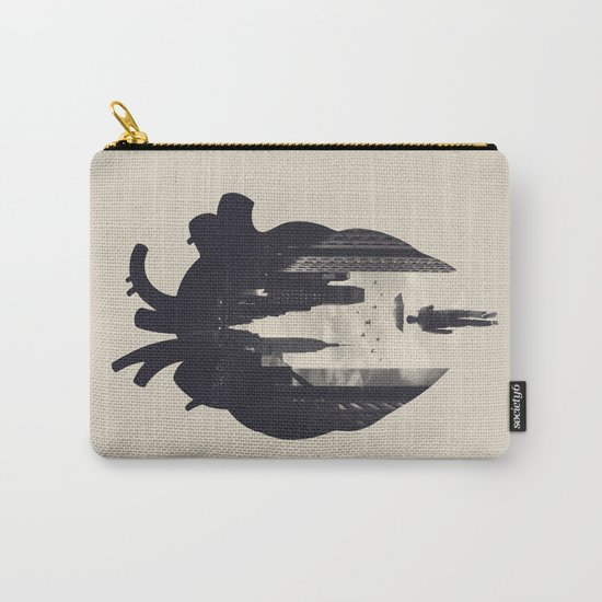 In the Heart of the City Carry-All Pouch