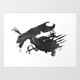The Queen Alien Art Print