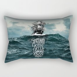 One With The Sea Rectangular Pillow
