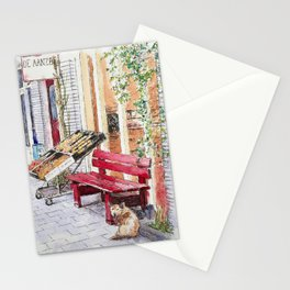 De Aanzet and the Dog Stationery Cards
