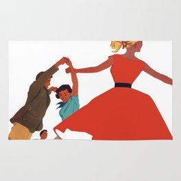 1950's Dance Rug