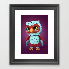 Hootgar Framed Art Print