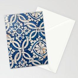 Vintage portuguese azulejo Stationery Cards