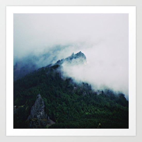 Film + Grain: Mountain Mist Art Print