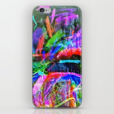 Lily's Watercolor Inverted iPhone & iPod Skin