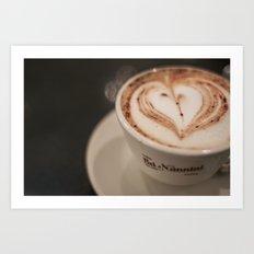 Pisa Cappuccino Art Print