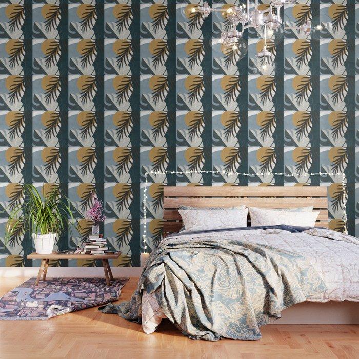 Abstract Tropical Art II Wallpaper