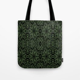 Forest Green Etch Tote Bag