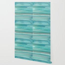 Turquoise Geode Wallpaper
