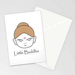 Cute little Buddha Stationery Cards