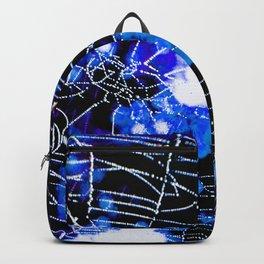 Spider Love Blues Backpack