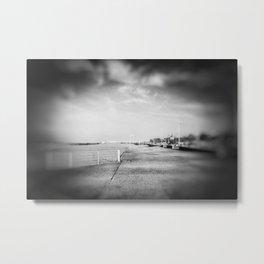 Dieppe Sea Front Metal Print