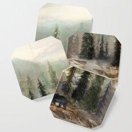 Mountain Black Bear Coaster