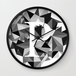 P for Wall Clock
