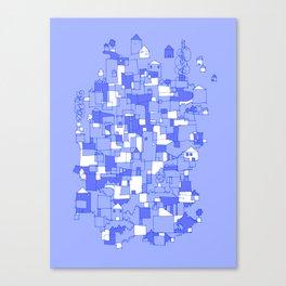 Floating Village Canvas Print
