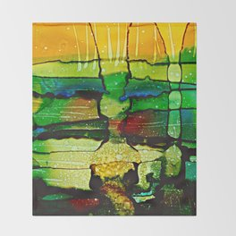 Underwater Impressions Throw Blanket