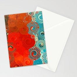 Swirls Galore Stationery Cards