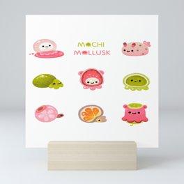 Mochi Mollusk Mini Art Print