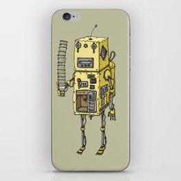 Coffee Robot iPhone Skin