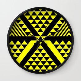 Black & Yellow Wall Clock