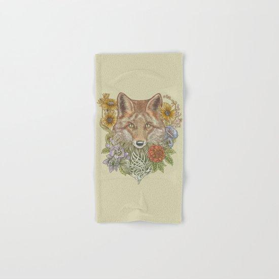 Fox Garden Hand & Bath Towel