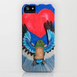 Hearty Bird iPhone Case