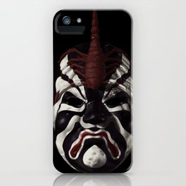 Five Deadly Venoms Scorpion Mask iPhone Case