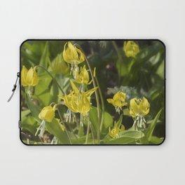 Glacier Lily Painterly Laptop Sleeve