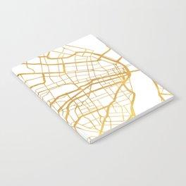 ST. LOUIS MISSOURI CITY STREET MAP ART Notebook